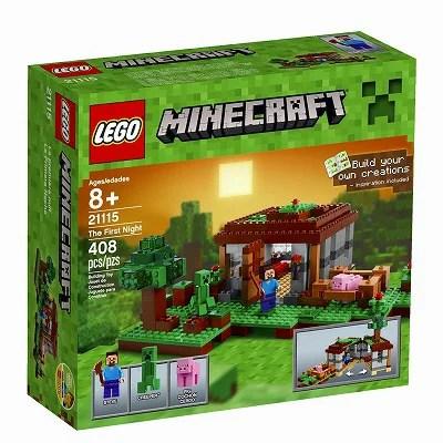 【最大1,200円オフクーポン配布中!】【送料無料】レゴ マインクラフト グッズ LEGO 21115 The First Night