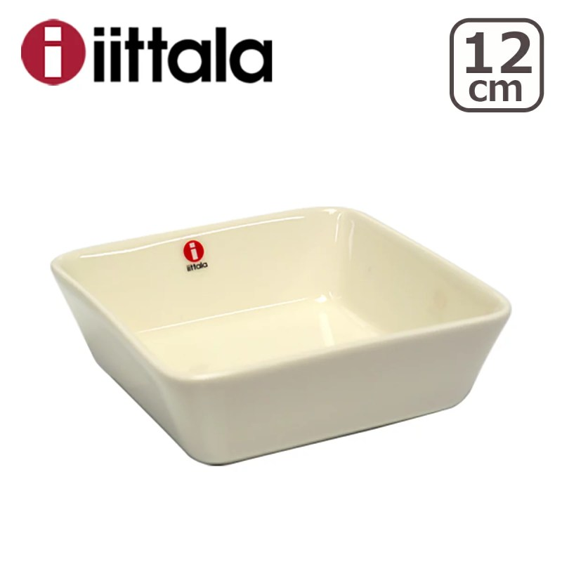 iittala イッタラ TEEMA(ティーマ) スクエアプレート 12cm 角皿