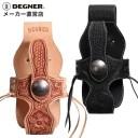 デグナー レザーウォレットケース WC-6 タン 本革 カービング