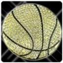 ジルコニア付 バスケットボール バックル ゴールド