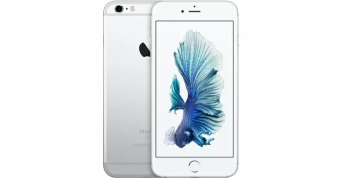 【中古】【白ロム】【SoftBank】iPhone6S 128GB iOS 9.2.1 Silver【Bランク】【△判定】