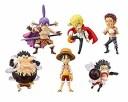 【中古】ワンピース ワールド コレクタブル フィギュア Battle of Luffy Whole Cake Island スネイクマン クラッカー カタクリ