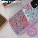 《即納》【iPhone12対応】メリージェニー merry jenny 【12】ぷかぷかうさぎiPhone case iPhon……