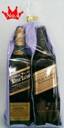 ギフト用ジョニーウォーカー200ml×2本(ブルー&ゴールド)【送料無料】【沖縄】【洋酒】【父の日】