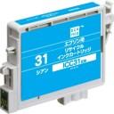 【エコリカインク(プリンター用交換インク)】エプソン互換品 ICC31互換 ECI-E31C シアン