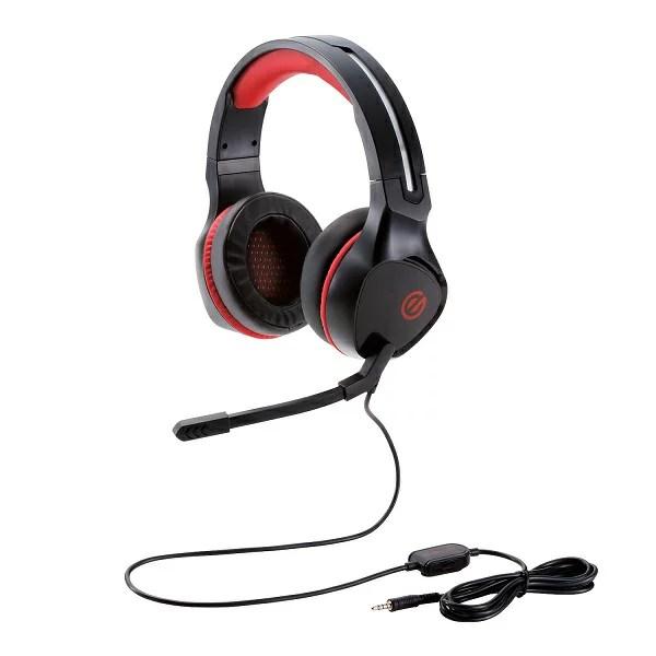 ゲーミングヘッドセット ELECOM HS-G01 BK ブラック 高音質 ヘッドホン ヘッドフォン 【6ヶ月保証】 【送料無料】