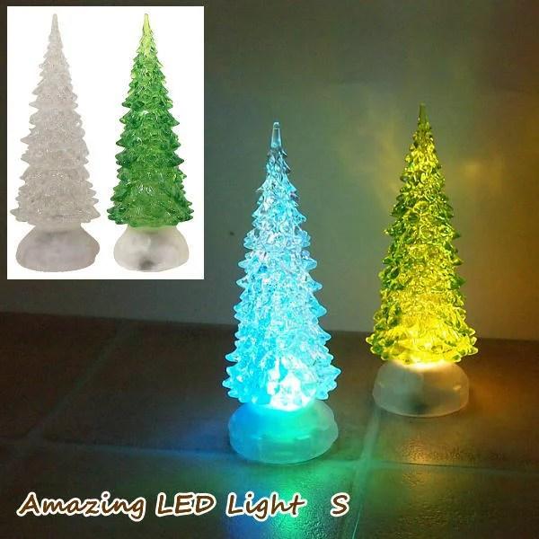 LED クリスマスオーナメント クリスマス雑貨 クリスマス ライト ツリー LEDライト 小物 電飾 北欧 クリスタ...