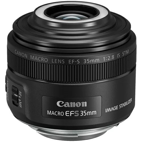 CANON EF-S35mm F2.8 マクロ IS STM