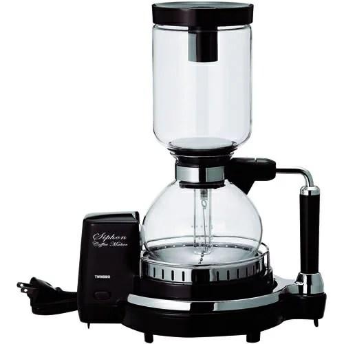 ツインバード TWINBIRD サイフォン式コーヒーメーカー