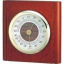 エンペックス気象計 温度湿度計 ルームガイド温湿度計 置き掛け兼用 日本製 ブラウン TM-713【smtb-s】