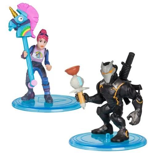 フォートナイト コレクションミニフィギュア 2体セット 004 オメガ&ブライトボンバー おもちゃ こども 子供 男の子 8歳