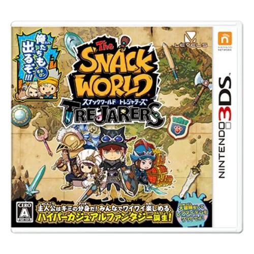 3DS スナックワールド トレジャラーズ