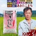 【ふるさと納税】 《定期便5ヶ月》 【白米】 秋田県産 あき