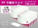 【ふるさと納税】シャープ製不織布マスク ふつうサイズ 30枚