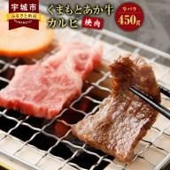 【ふるさと納税】地元ブランド くまもとあか牛 カルビ 焼肉