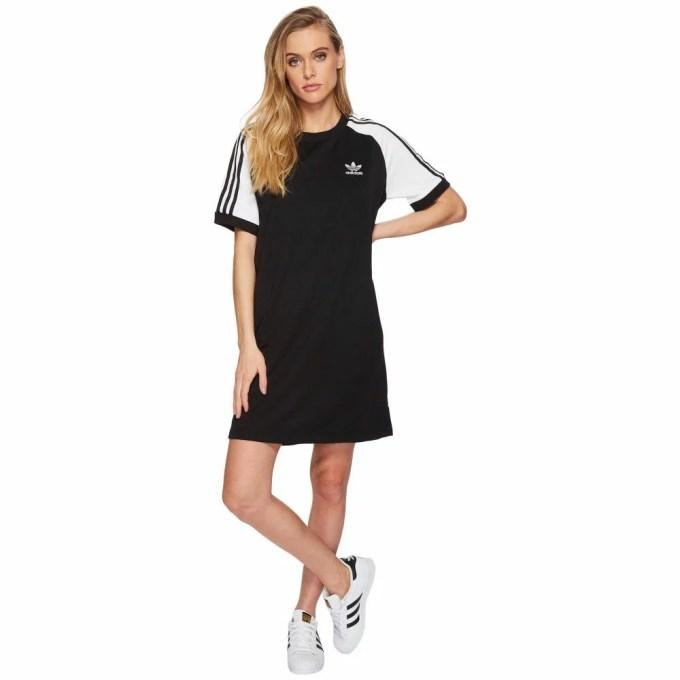 アディダス レディース ワンピース・ドレス ワンピース【Raglan Dress】Black