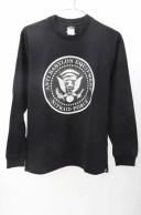 NITRAIDナイトレイド 長袖バビロンロンTシャツ【MTSA50512】【ブラック】【L】【中古】【2点以上同時購入で送料無料】【DM181020】