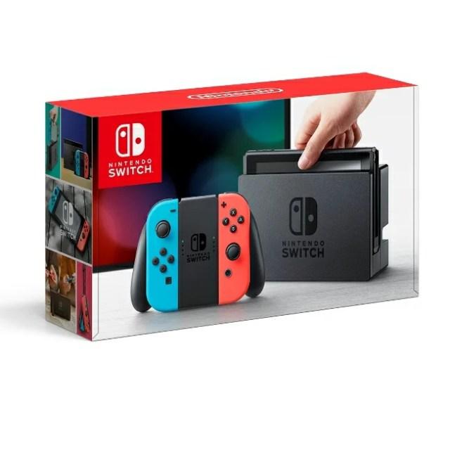 【在庫あり】3/3発売★Nintendo Switch Joy-Con(L) ネオンブルー/(R) ネオンレッド 任天堂 4902370535716