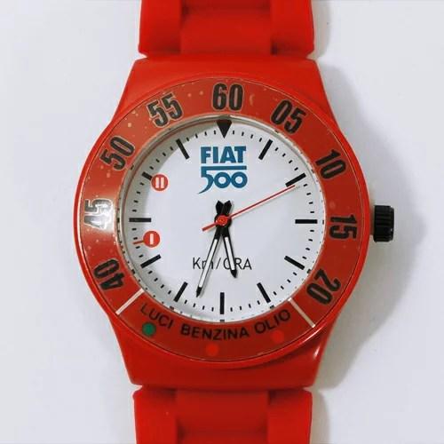 FIAT(フィアット)純正 500リストウォッチ(レッド)