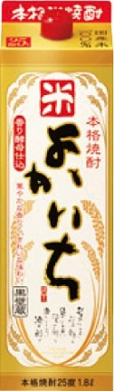 宝(タカラ)酒造 よかいち 【米】 紙パック 1800ml※6本まで1個口で発送可能