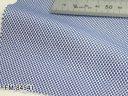 オリジナルオーダーシャツ●FM84541ロイヤルブルー系無地バスケット織り 100番手双糸 100%cotton