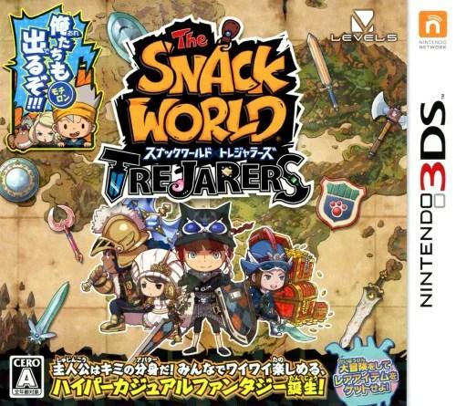 【中古】スナックワールド トレジャラーズソフト:ニンテンドー3DSソフト/マンガアニメ・ゲーム