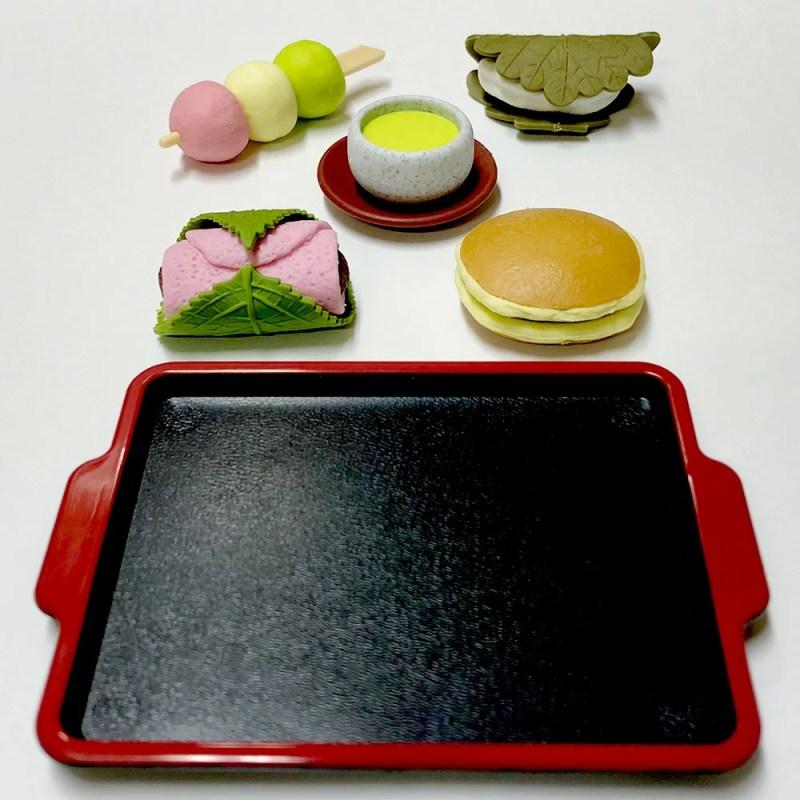 和菓子の消しゴム おみやげセット和菓子のフィギュア フィギュア消しゴム 日本のおみやげ 外国人へのお