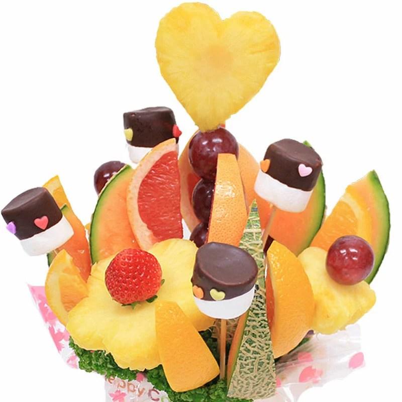 [ギフトパーク]バースデーケーキより喜ばれる[ノア]誕生日ケーキ 結婚記念日 サプライズ 誕生日プレゼント フルーツブーケ パーティー 果物盛り合わせ 詰め合わせ 贈答用 スイーツ フルーツケーキ 送料無料 クリスマス お菓子 お歳暮
