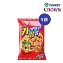 【CROWN】【クラウン】キャラメルコーンピーナッツ/Caramel cones and peanuts/72gx5袋/スナック/ピーナッツ/キャラメルピーナッツ/お..
