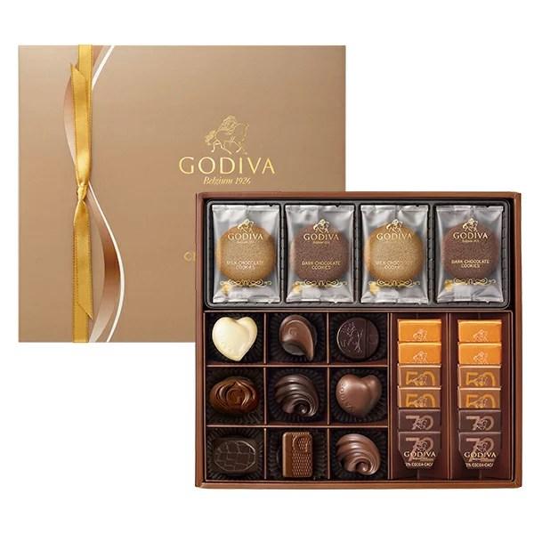 母の日 プレゼント ゴディバ(GODIVA)クッキー&チョコレート アソートメン