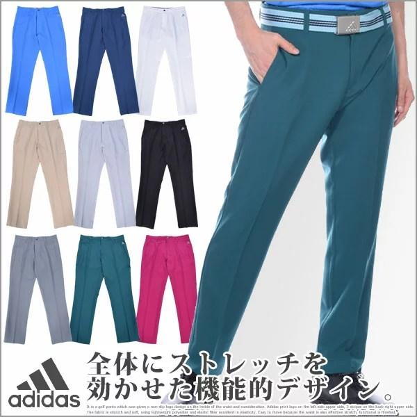 (福袋対象商品)アディダス adidas ゴルフウェア メンズ ゴルフパンツ ロングパンツ メンズウェア アルティメット 3ストライプ パンツ 大きいサイズ USA直輸入 あす楽対応