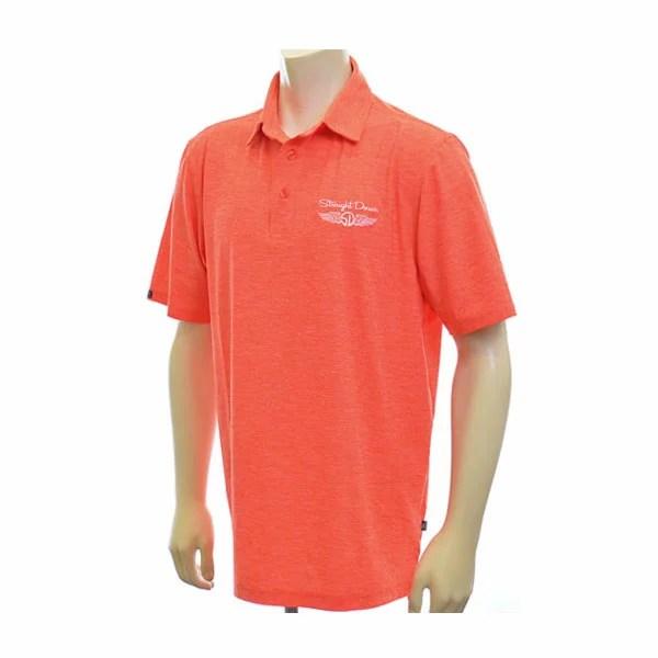(福袋対象商品)(在庫処分商品)ストレートダウン ゴルフ ポロシャツ  ドッジ ゴルフ ポロシャツ USA直輸入 あす楽対応