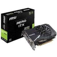 MSI GEFORCE GTX1060 AERO ITX 3G OC GTX1060搭載グラフィックスボード 3GBメモリ版 シングルファン設計のショートモデル
