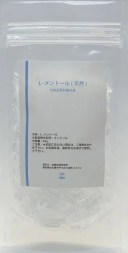 天然 L-メントール ハッカ結晶 60g (手作り化粧品) メントール めんとーる ハッカ 薄荷