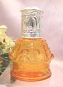 ミニ アロマランプ(ミニアロマポット) アンジュクレールオーシャンオレンジ・シルバー N014ORSD