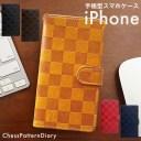 楽天スーパーセール iPhone12 ケース Pro Max 12mini iPhoneケース 手帳型 チェスパターン ダ……