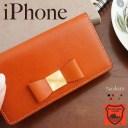 iPhone12 ケース Pro Max mini iPhone SE 2020 第2世代 iPhoneケース 手帳型 リボン 栃木レザ……