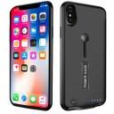 【進化版・スタンド機能】iPhoneXsケース 専用充電ケース 軽量 薄型 バッテリーケース リング……