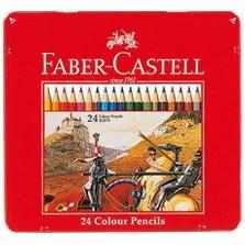 【メール便対応可能/2個まで】ファーバーカステル 色鉛筆 24色セット TFC-CP/24C
