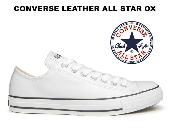 コンバース レザー オールスター CONVERSE ALL STAR LEATHER OX WHIT