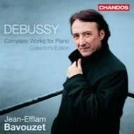 【送料無料】 Debussy ドビュッシー / ピアノ作品全集 バヴゼ(5CD) 輸入盤 【CD】