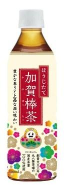 ほうじたて加賀棒茶 500ml 24本(1ケース)