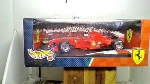 【送料無料】模型車 モデルカー スポーツカーミハエルシューマッハスケールフェラーリレースカーホットホイール listingvintage michael schumacher 118 scale ferrari f399 race car hot wheels 1999