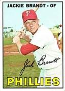 【送料無料】スポーツ メモリアル カード 1967トップス142ジャッキーブラント vgex