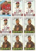 【送料無料】スポーツ メモリアル カード listing9 card denard span baseball card lot6 listing9 card denard span baseball card..