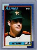 【送料無料】スポーツ メモリアル カード 1990トップス579アートハウヒューストンアストロズ1990 topps 579 art howe houston astros