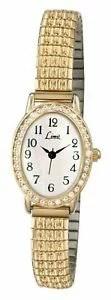 【送料無料】腕時計 ウォッチ レディースゴールド¥reloj de pulsera lmite de damas de expansin oro esfera blanca 6030 pvp