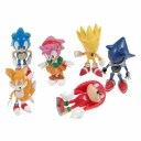 Sonic the Hedgehog ソニック・ザ・ヘッジホッグ フィギュア Action Figure 6体セット [Toy]