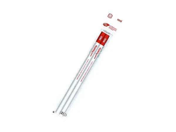 ◎◇uni Palette(パレット) 赤鉛筆2本組6パック計12本セット 【楽ギフ_名入れ】