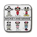 〈ディズニーミッキーマウス 90周年〉コレクションタオル 約25cm/一番くじ F賞  90 YEARS of ROMANCE/MICKEYMOUSE 90th -MICKEY AND M..